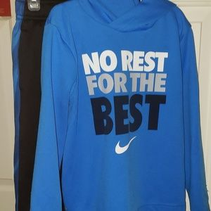 Nike Boys Dri-fit Pullover with Hood and Pants